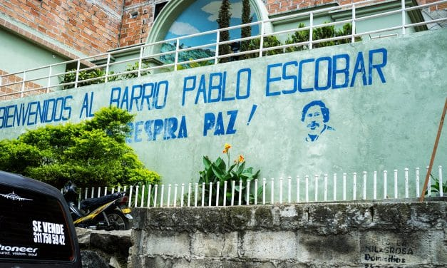 <span style='font-size:13px;'>Hope Between Guns and Powder:</span><br> A Day in Pablo Escobar's Homeland, and His Eponymous Neighbourhood