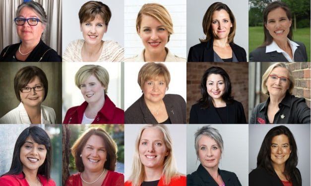 Mujeres en Canadá, una foto con desajustes