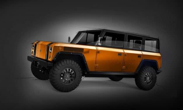 Bollinger Motors reveals 4-door version of its all-electric sport utility truck