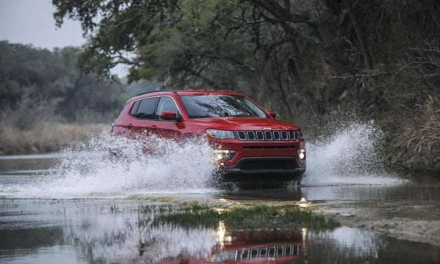 2017 Jeep Compass earns Top Safety Pick from Insurance Institute for Highway Safety (IIHS)