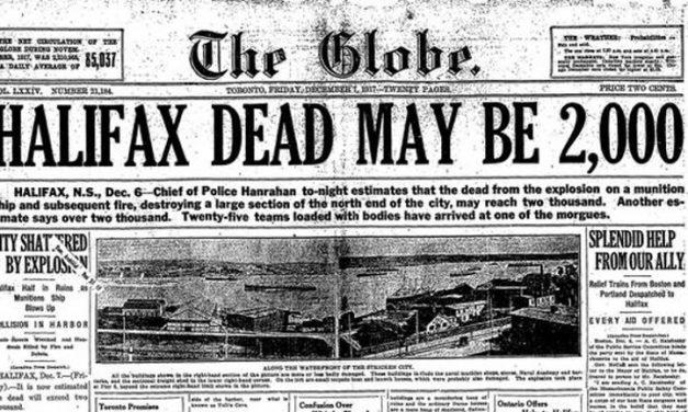 Así fue la tragedia de Halifax que se recuerda cien años después en un sello