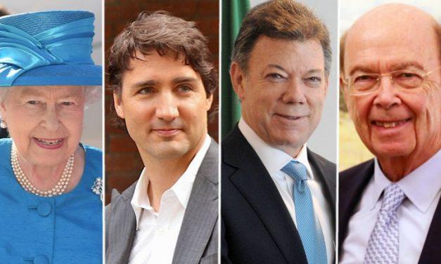 La reina, el recaudador de Trudeau, Juan M. Santos… Las claves de los 'Paradise Papers'