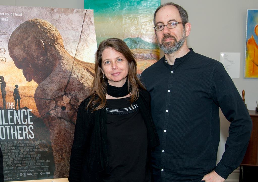 Almudena Carracedo y Robert Bahar