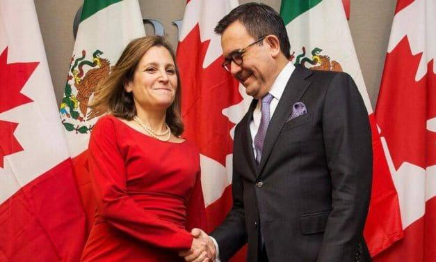 México considera que existe un 80% de probabilidad de cerrar la negociación del TLCAN en mayo