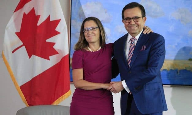 Canadá se reincorporará al TLCAN cuando solucione sus diferencias con Estados Unidos