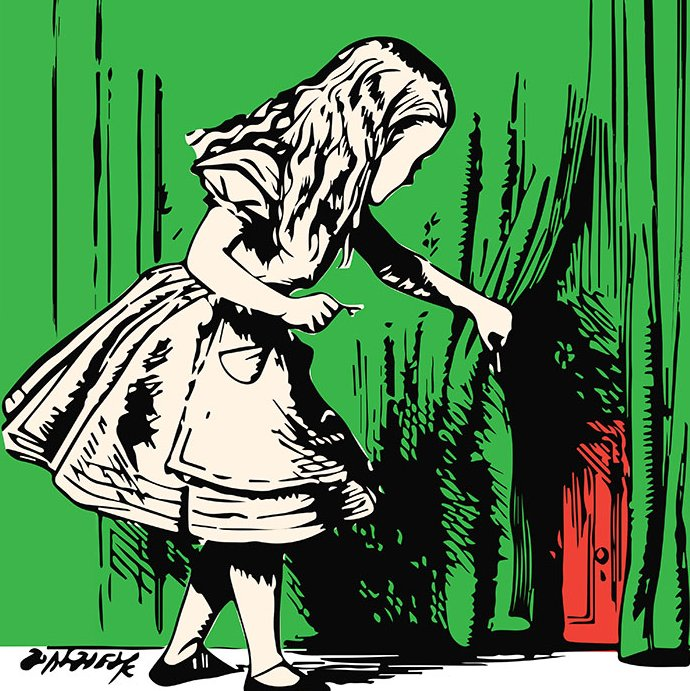 Alice Opens the Door