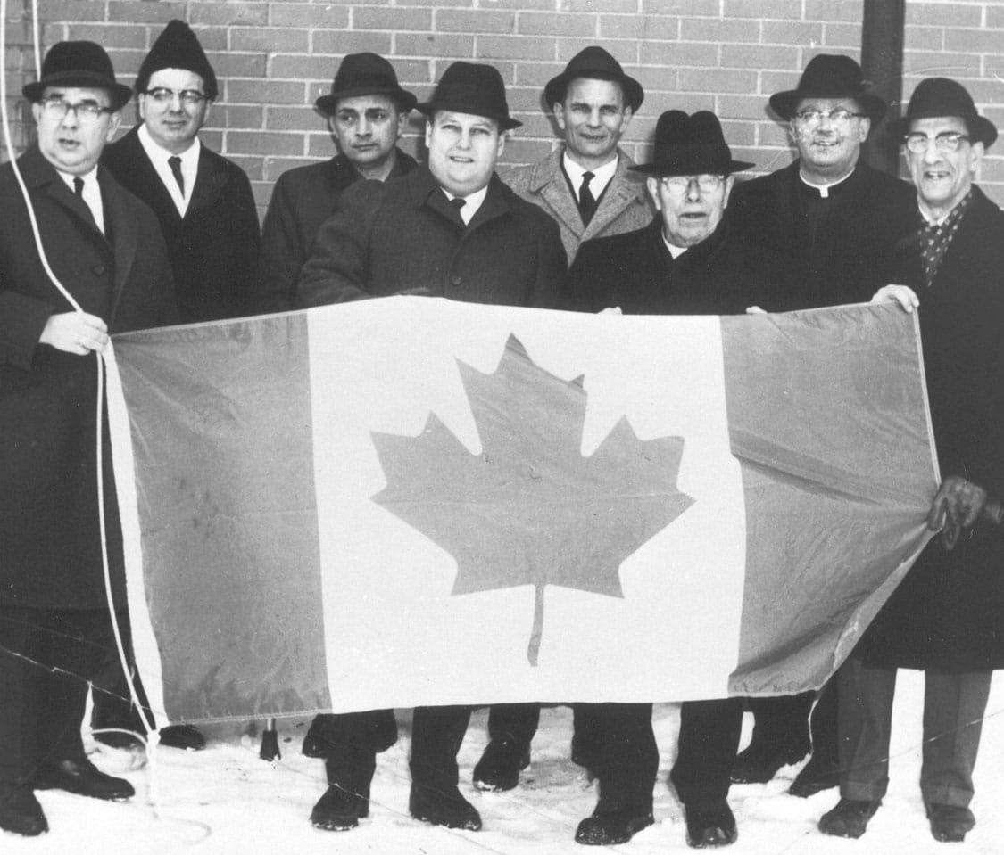 New Canada flag
